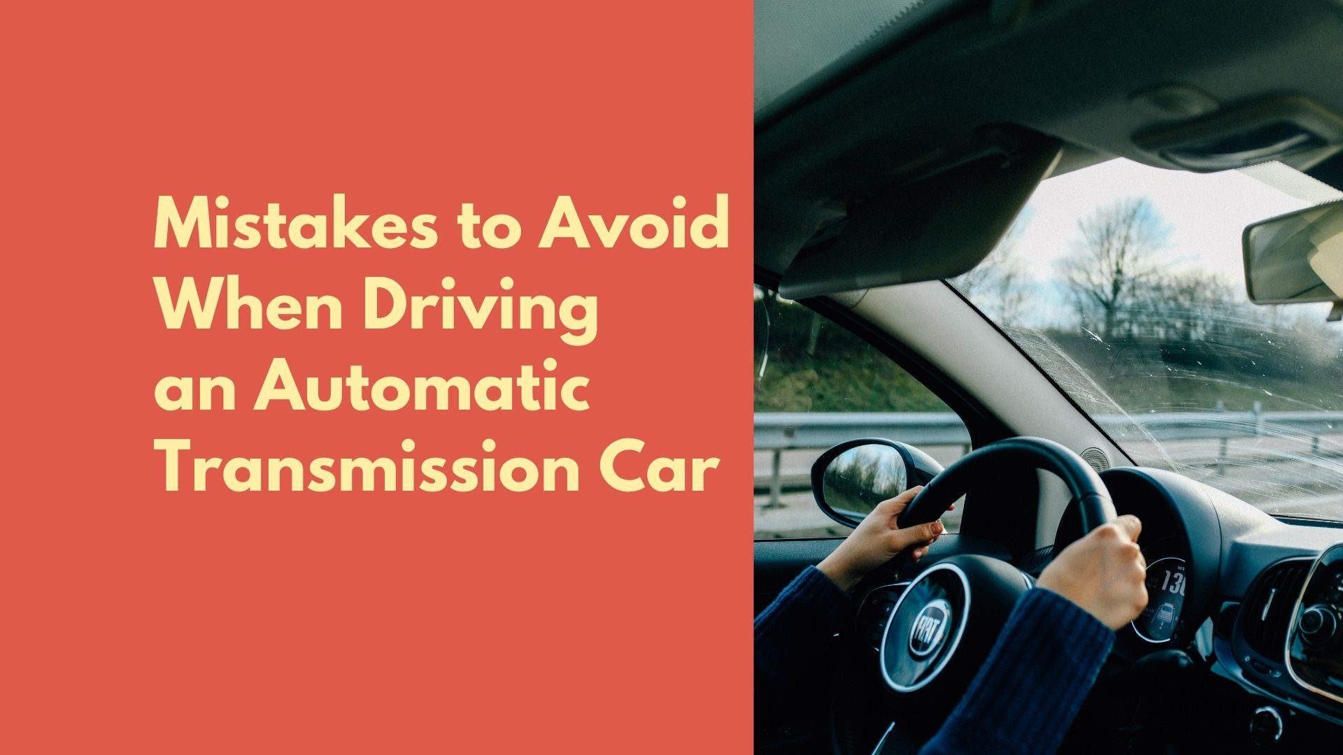 how to drive an automatic transmisison car